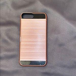iPhone 7 Plus rose gold phone case